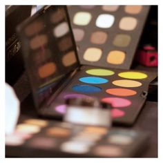 We love the MAKE UP FOR EVER customizable palette that can hold 10 eye shadows or blushes! Pick your favorite 10 and go!