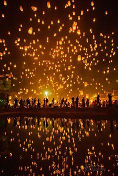 - weeks - direct flight to Chiang Mai or via Ban . - weeks - direct flight to Chiang Mai or via Bangkok, Singapore, Thailand Destinations, Thailand Travel, Asia Travel, Travel Tips, Travel Destinations, Thailand Honeymoon, Floating Lanterns, Sky Lanterns, Lantern Festival Thailand