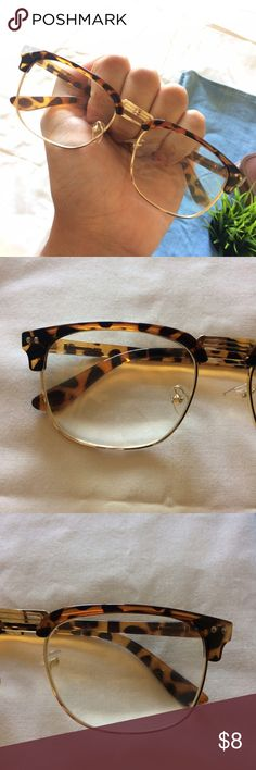Faux Reader Glasses in good overall shape • very minor dings on lenses that are mostly invisible Accessories Glasses