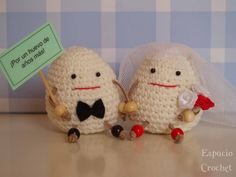 wedding amigurumi
