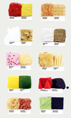 Pantone Food - by David Schwen