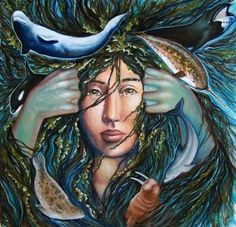 Sedna Goddess of the Sea | Sedna an Inuit Goddess in #golf bk Hole 6~Intuition, Hole 15~Focus