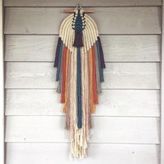 Can't stop won't stop making making ! Another piece made and straight into thanks for supporting me and other local Australian businesses ! Modern Macrame, Macrame Art, Macrame Design, Macrame Projects, Macrame Wall Hanging Patterns, Macrame Patterns, Weaving Art, Tapestry Weaving, Wool Wall Hanging