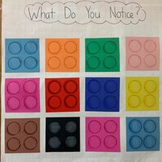 What Do You Notice? Lego Blocks – Another Family Math Night activity that involves subitizing, repeated addition, multiplication, etc.