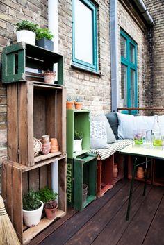 DIY Ideen für die Terrassen