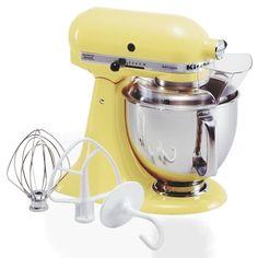 KitchenAid 5-Quart Tilt-Head Artisan Series Stand Mixer in Majestic Yellow/Pistachio/Ice Bue/Melon