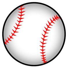 free printable baseball clip art images inch circle punch or rh pinterest com free baseball clipart for kids free baseball clipart for kids