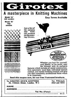 44 Best Vintage Knitting Machine Adverts images in 2018
