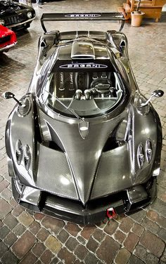 Pagani Zonda R. The ultimate supercar? Okay, I usually don't add to these, but I have to say, who in the world would want a Lamborghini or Ferrari when they could have a Pagani? Maserati, Bugatti, Lamborghini, Ferrari, Pagani Zonda R, Koenigsegg, Pagani Car, Luxury Sports Cars, Best Luxury Cars