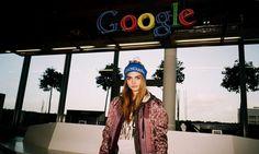 Cara Delevingne + Google