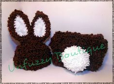 Busting Stitches: Boy Bunny Diaper Cover Set  Free Pattern