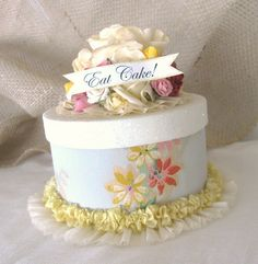 Floral Paper Cakes