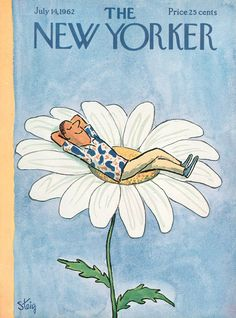 The New Yorker - Saturday, July 14, 1962 - Issue # 1952 - Vol. 38 - N° 21 - Cover by : William Steig