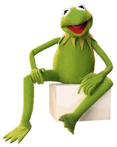 Kermit the frog, it's not that easy bein green.
