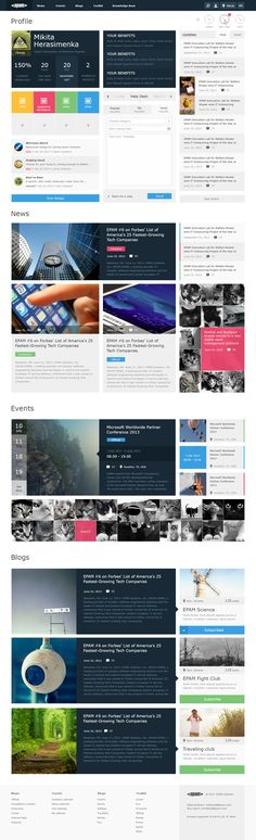 New Fresh Web Design Inspiration Sharepoint Design, Intranet Design, Photomontage, Intranet Portal, Portal Design, Dashboard Design, App Design, Ui Web, Website Design Inspiration