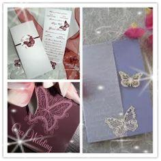 butterfly wedding ideas | Butterfly Wedding Theme Invitations