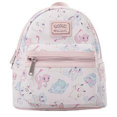 Pokemon - Pastel Starters Loungefly Mini Backpack - ZiNG Pop Culture
