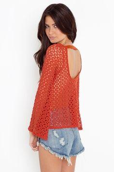 Janis Crochet Top - StyleSays