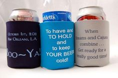 Awesome Wedding Koozies!!