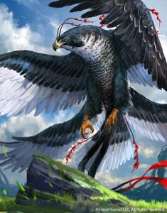 ArtStation - Eagle of striking, Duong ct Cute Fantasy Creatures, Mythical Creatures Art, Mythological Creatures, Magical Creatures, Monster Art, Fantasy Monster, Dark Fantasy Art, Fantasy Artwork, Arte Haida