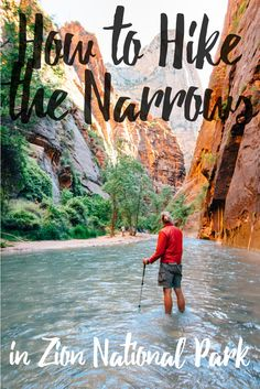 How to hike the Narrows in Zion - without renting gear!