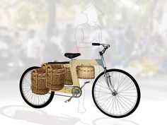 """Flatspotting - Wooden Bicycle Frames: """"Furniture On Wheels,"""" or Something More? - Core77"""