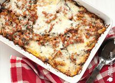 Low Carb Pasta Bake with Turkey & Kale