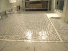 mosaic floor, so dreamy - Jenny Steffens Hobick: Bedford Post Inn | Our Trip to New York | Travel