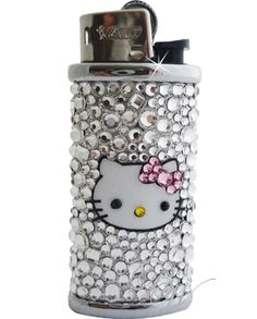 blinged out hello kitty lighter.