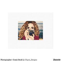 Photographer- Comic Book