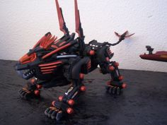 custom colored blade liger. from zoids poison