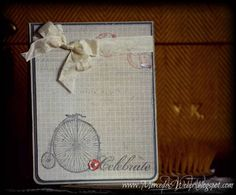 SAB 2013 Vintage Bicycle by girl3boys0 - Cards and Paper Crafts at Splitcoaststampers