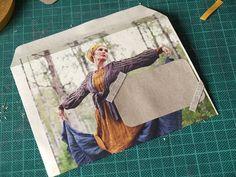 recycle magazines: envelopes