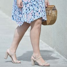 The 4 Shoes You Need for Summer with The Block Heel via @GirlWithCurves
