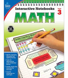 Time-Saving interactive notebook templates that allow students to show what they know! In Interactive Notebooks: Math for third grade, students will complete hands-on activities about place value, mul