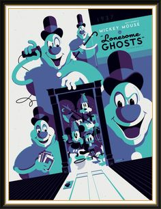 Disney ghost cartoon