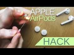 This simple AirPods hack can dramatically improve the sound quality - The Verge Iphone Secrets, Computer Headphones, Iphone Life Hacks, Diy Crochet Projects, Airpod Case, Airpod Pro, Air Pods, Cleaning Hacks, Speakers
