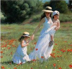 Painting by Vladimir Volegov