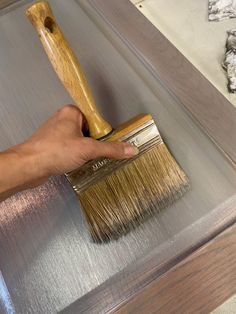 Oak Stain, Grey Stain, Grey Wash, Gray Stained Cabinets, Dinning Room Sets, Dining, Honey Oak Cabinets, Chalk Paint Furniture, Gray Wash Furniture
