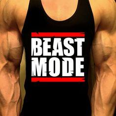 Beast Mode T'Shirt, Mens Workout Tank, Workout Tank, Men Gym Shirt, Mens Gym Tank, Workout Clothes, Gym Shirt, Muscle Tee, Mens Fitness Tank by MyFitnessApparel on Etsy