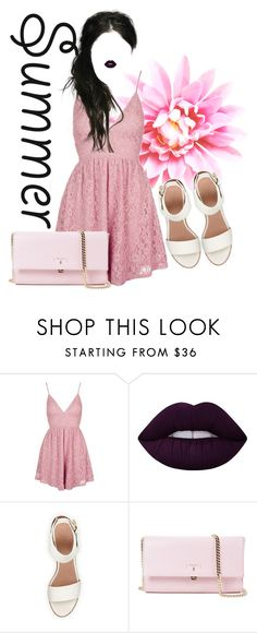 """Без названия #21"" by levichenckova-katya ❤ liked on Polyvore featuring Topshop, Lime Crime, BEA and Serapian"