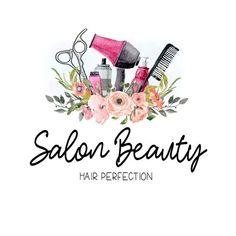 Items similar to premade custom logo -salon beauty- premade logo, boho hair stylist Beauty Salon Logo, Beauty Salon Decor, Beauty Art, Beauty Salons, Beauty Makeup, Beauty Nails, Hair Beauty, Schönheitssalon Logo, Logo Branding