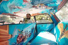 Taxi Fabric: diseño publicidad y cultura local en India