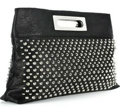 Thomas Wylde Studded Leather Clutch | gorgeous. love this.