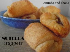 Crumbs and Chaos: Nutella Nuggets