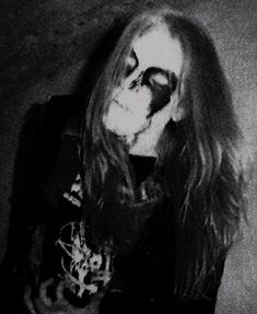 Dead (Born Per Ohlin). Vocalist for Mayhem. Sweden.