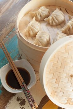 Smakowity Blog Kulinarny: Chińskie pierożki Jiaozi gotowane na parze Dumplings, Icing, Peanut Butter, Food And Drink, Dinner, Cooking, Ethnic Recipes, Desserts, Meat