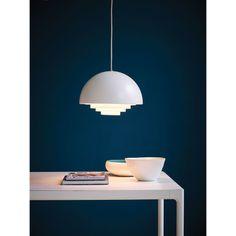 Design Belysning AS - Herstal Motown Pendel - Herstal - Produsenter Living Room Inspiration, Interior Inspiration, Demi Sphere, Lounge Lighting, Small Lamps, Motown, Danish Design, Retro, Pendant Lamp
