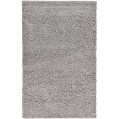 Affinity Linens Affinity Hand-woven Silver Area Rug Size: 60'' Wx96'' L