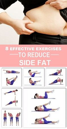 8 Effective Exercises to Reduce Side Fat